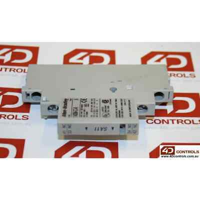 Allen Bradley 140M-C-A-SA20 Auxiliary Contact Block, Right Side Mounted - Use...