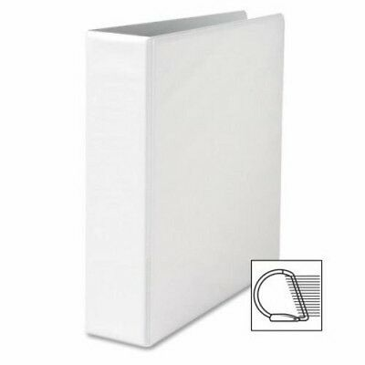 "Sparco Locking D-Ring View Binder,2 ""Capacity,11""x8-1/2"",White (SPR26959)"