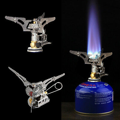3000W Portable Outdoor Butane Picnic Propane Burner Foldable Camping Gas Stove