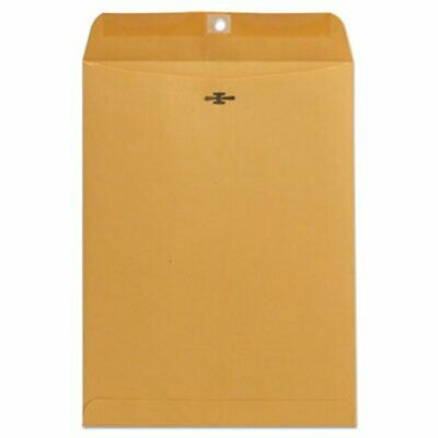 Universal Kraft Clasp Envelope, 9 x 12, Light Brown, 100 Envelopes (UNV41907)