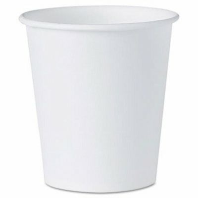 Solo Cup Company White Paper Water Cups, 3 oz., 100/Pack (SCC44)