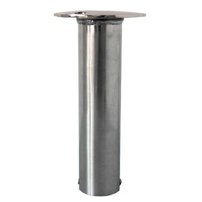 Yacht Flush Mount Fishing Rod Holder Stainless Steel 316 8745S90 no cap