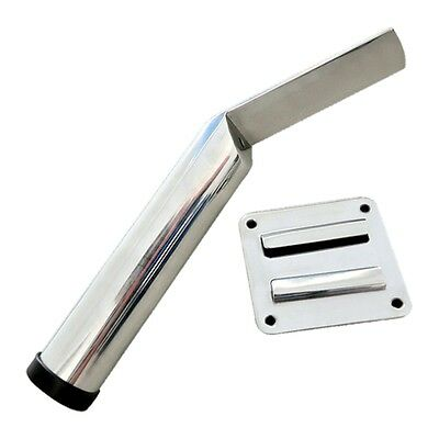 Yacht Removeable Fishing Rod Holder Marine Stainless Steel