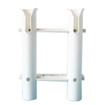 Plastic Tube Fishing Rod Holder Rack for Yacht with 2 Tubes