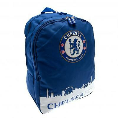 Official Licensed Football Product Chelsea Backpack Skyline Gym Bag Gift Fan New
