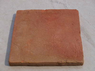 Mexican Terracotta Tiles Handmade ( sample ) from only £ 15.99 per m2 flooring
