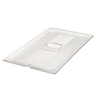 Rubbermaid 134P Full Size Cold Food Pan Cover, Clear (RCP134PCLE)