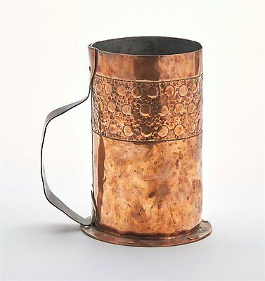 Arts & Crafts Keswick Copper Strap Handle Tankard C.1900