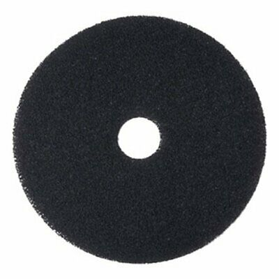 "Boardwalk Black 16"" Floor Stripping Pads, 5 Pads (BWK4016BLA)"