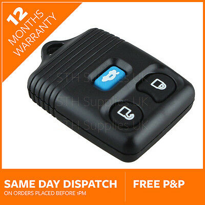 3 Button Remote Key Fob for Ford Transit MK6 2000-2006 and Ford Transit Connect