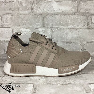 quality design bbf65 8d4bb ADIDAS NMD R1 PK TAN GRAY FRENCH BEIGE S81848 PRIMEKNIT NOMAD KNIT BOOST  Size 8