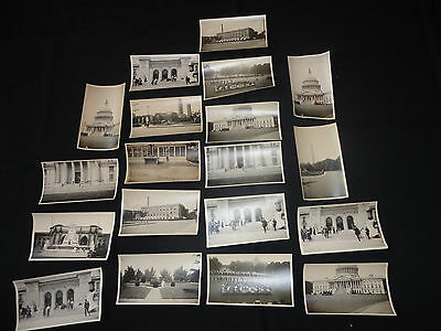"""Lot of 19 Vintage  Photos Original  """"Trip to the big City """" , early 1900's"""