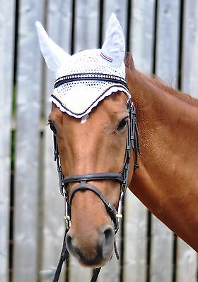 John Whitaker Deluxe  Fly Veil Cob & Full - Sale  Assorted Colours Rrp £19.99