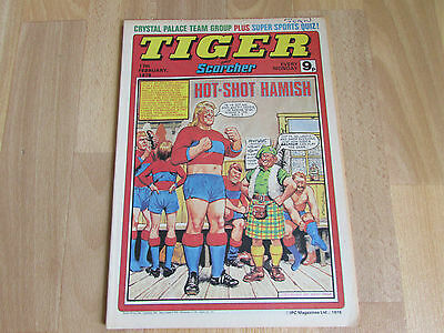 TIGER & Scorcher Magazine CRYSTAL Palace FOOTBALL Team Picture 17/02/79