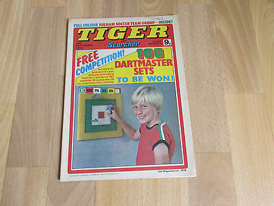 TIGER & Scorcher Comic Fulham FOOTBALL Team Picture 30/09/78