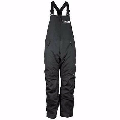 Yamaha Adventure Bibs Snow Pants 2X-Large SMB-15BAD-BK-XX
