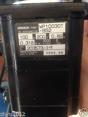 1pc Omron servo motor R88M-WP10030T-BS2