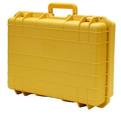 T.Z. Case Cape Buffalo Water-Resistant Utility Case- Yellow