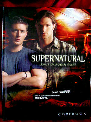 -VERY RARE- SUPERNATURAL ROLEPLAYING GAME COREBOOK. RPG Rulebook