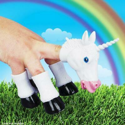 Handicorn – Unicorn Hand Puppet Funny Horse Magical Fun Play Quirky Weird Awesom