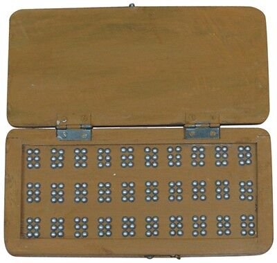 Wooden BrailleIt Board - Practice and Learn Braille Dot by Dot