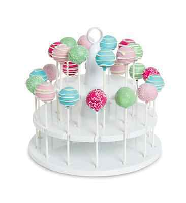 Cake Pops Stand - 18 Holding Slots - Bakelicious