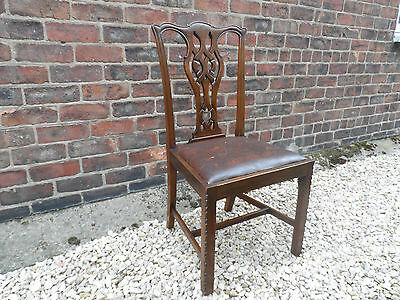 Chippendale Ribbon Back  Chair .