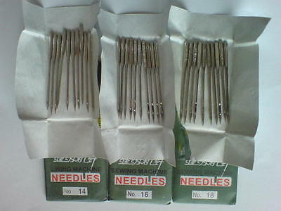 Sewing Machine Needles 90/14 100/16 110/18 Home Domestic Fabric Material Craft