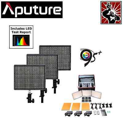 Aputure Amaran LED Video Lighting Kit HR672W HR672S x 2 CRI95+ Light Panel