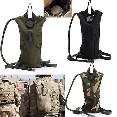 3 Liters Water Bladder Backpack Cycling Hiking Camping Bag Army Hydration Pouch