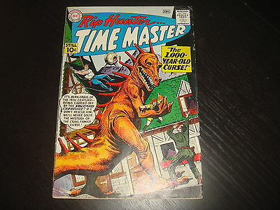 RIP HUNTER, TIME MASTER #1   Silver Age DC Comics 1961  VG+, maybe VG/FN
