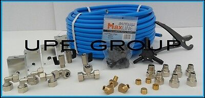 """MaxLine COMPRESSED AIR TUBING piping system Master Kit 1/2"""" pipe x 100 FT M3800"""