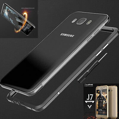 Luxury Metal Aluminum Shockproof Bumper Frame Case Cover Fr Samsung Galaxy Phone