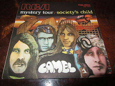 CAMEL MYSTERY TOUR LENNON McCARTNEY Italy 1969 PROG 45 Great Conditions Cover