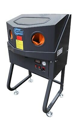 FoxHunter Enclosed Parts Washer With Auxiliary Heating System Cleaner Workshop