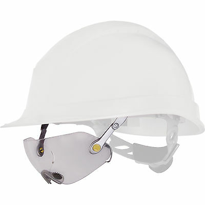 Delta Plus Venitex FUEGO Clear Polycarbonate Safety Specs Spectacles For Helmet