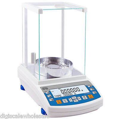 Analytical Balance Laboratory Scale 220g x 0.01 Milligram RADWAG Precision RS232