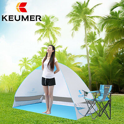 Outdoor Beach Canopy Sun Umbrella Portable Fishing Camping Shelter Tent YW