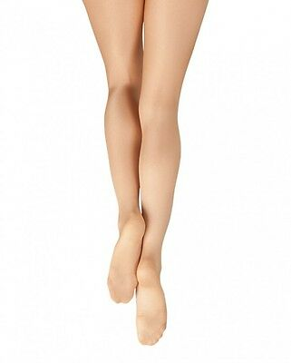 Capezio Ultra Shimmery Footed Tights for Women New Style 1808