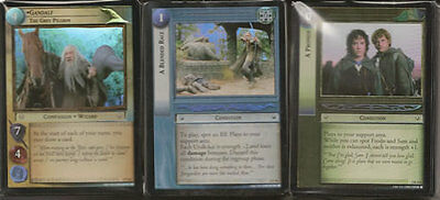 9R50 EVERYONE KNOWS LOTR TCG REFLECTIONS RARE FOIL CARD