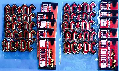 10 Lot AC / DC Rock Music Iron On Hat Jacket Backpack Hoodie Patches Crests A