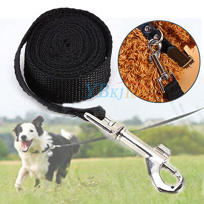 1.5/1.8m Pet Small Dog Puppy Cat Rabbit Nylon Harness Training Collar Leash Lead