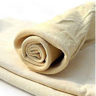New Natural Shammy Chamois Leather Car Cleaning Towels Drying Washing Cloth