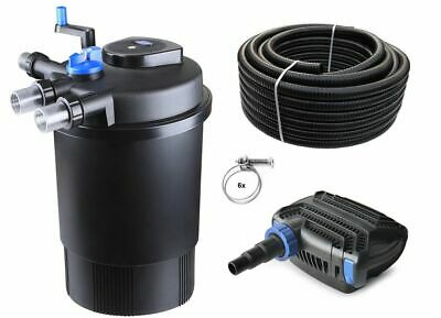 Bio Pond Filter CPF 30000 SET +Pond pump + Pond hose +UVC clearer Filter