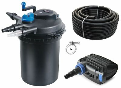 Bio Pond Filter CPF 10000 SET +Pond pump + Pond hose +UVC clearer Filter