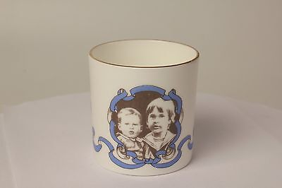 Prince William & Henry Baby Cup Commemorative Limited Edition Dorincourt