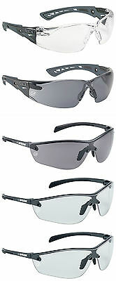 Bolle APACHE+ Plus Work Safety Glasses / Eye Protection - Various Lens