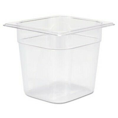 Rubbermaid 106P 2-1/2 Qt Cold Food Pan, Clear, Each (RCP106PCLE)