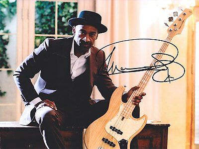 MARCUS MILLER Jazz/Bass legend AMAZING IN PERSON SIGNED W/PROOF