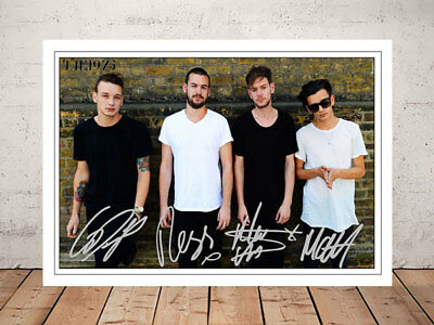 Matt Healy The 1975 Band Autographed Signed Photo Print 12X8